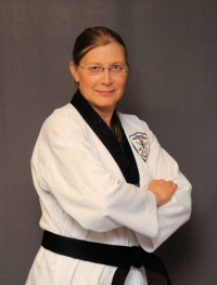 Denise Zimmerle, 2nd Degree Black Belt