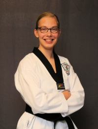 Reba Zimmerle, 2nd Degree Black Belt