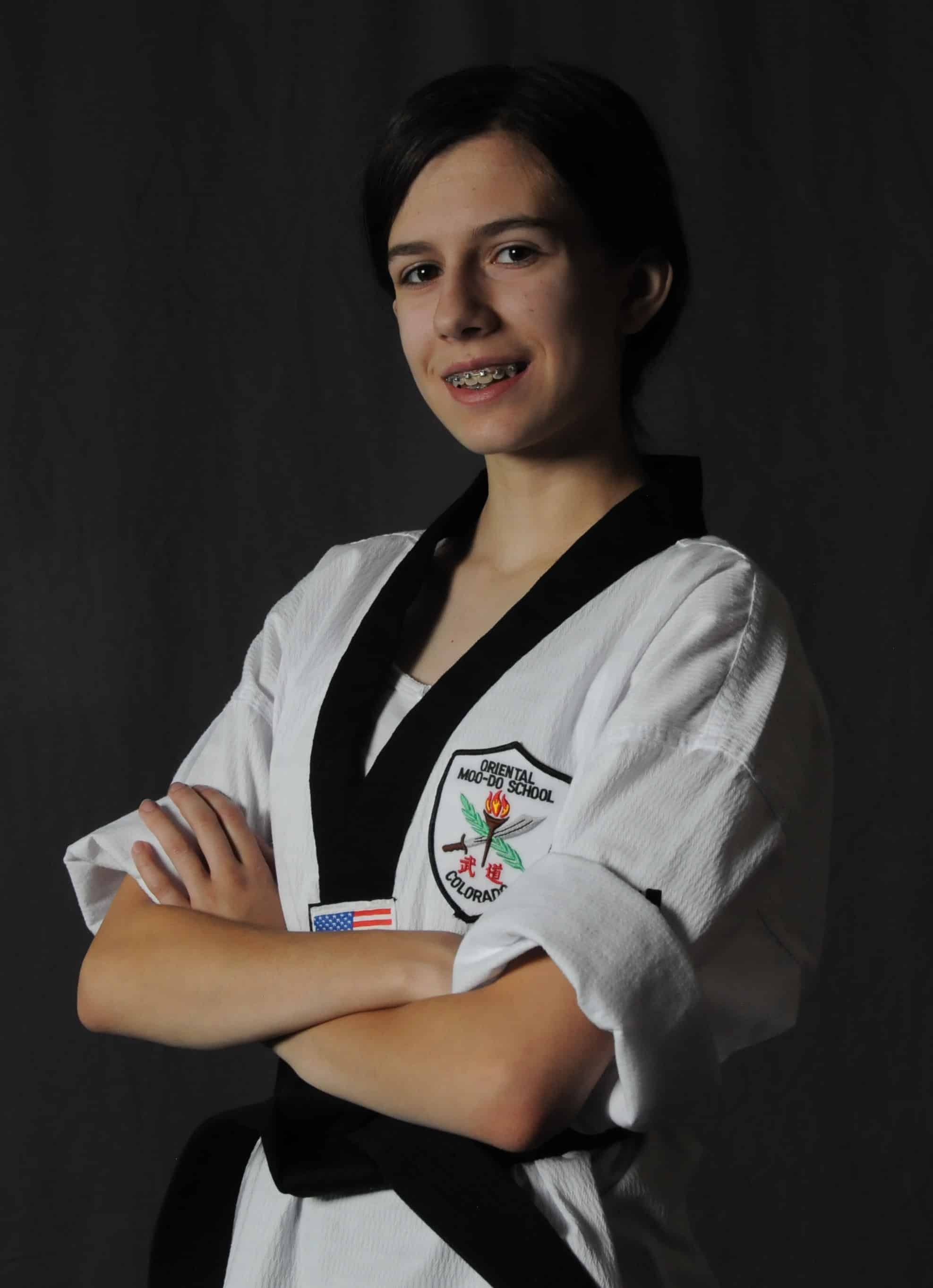 Christina Lucas, 2nd Degree Black Belt